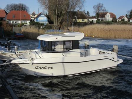 Motoryacht Arvor 690 ab Hafen Breege