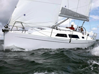 Segelyacht Hanse 325 ab Hafen Flensburg