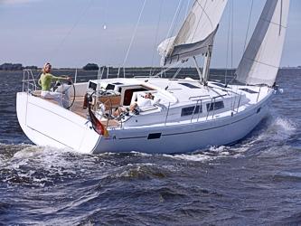 Segelyacht Hanse 385 ab Hafen Breege