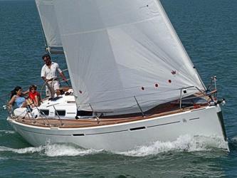 Segelyacht Dufour 365 Grand Large ab Hafen Breege