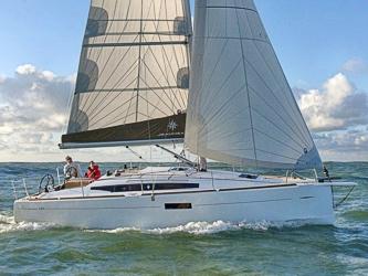 Segelyacht Sun Odyssey 349 ab Hafen Breege