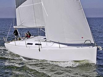 Segelyacht Dehler Varianta 37 ab Hafen Rostock