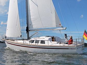 Segelyacht Vilm 41 DS ab Hafen Rostock