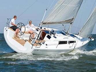 Segelyacht Hanse 315 (17-20) ab Hafen Breege