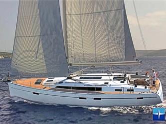 Segelyacht Bavaria Cruiser 51 ab Hafen Flensburg